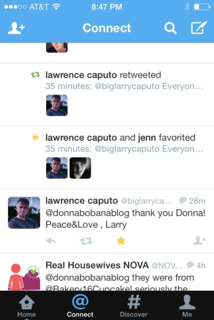 Celebrity Retweet: Larry Caputo, aka Theresa Caputo's/Long Island
