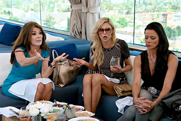 RHOBH Poolside Lunch