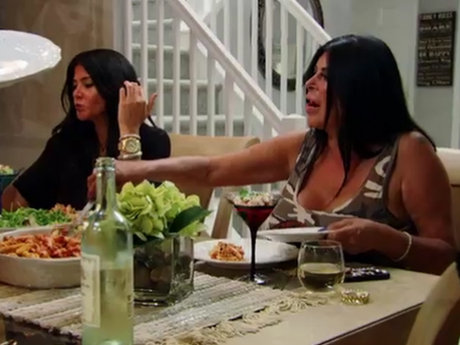 Mob Wives Alicia House Dinner