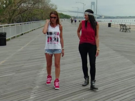 Mob Wives Drita & Alicia Boardwalk