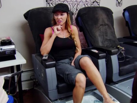 Mob Wives Drita Salon