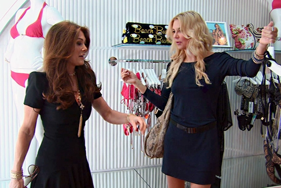 RHOBH Brandi Lisa Shopping