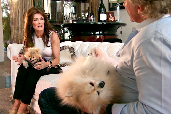 RHOBH Lisa & Ken Talking
