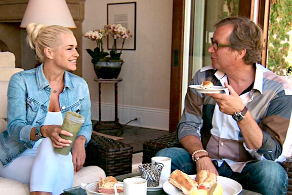 RHOBH Yolanda & Brother