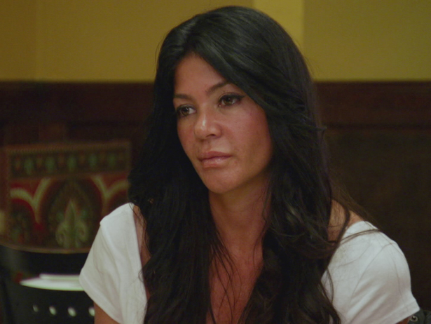 MobWives S4 Ep8 Alicia Drita Dinner