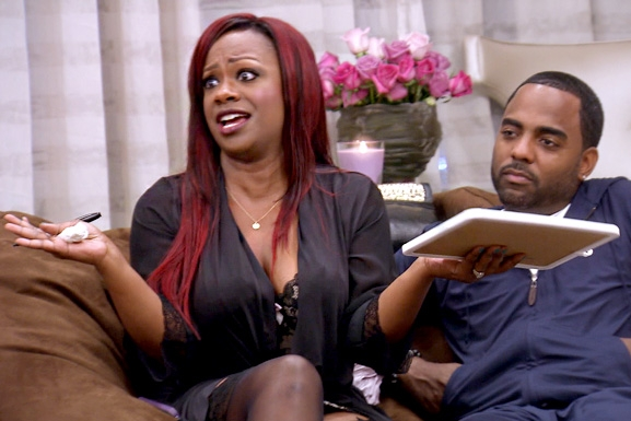 RHOA S6 Ep13 Kandi Calls Peter Out