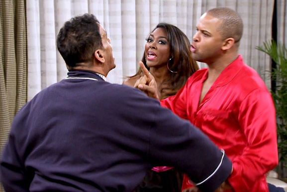 RHOA S6 Ep13 Lingerie Fight