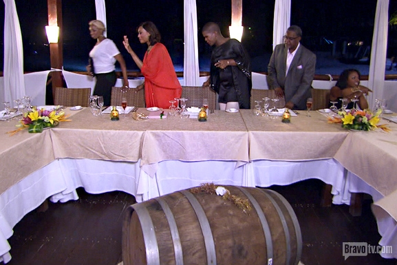 RHOA S6 Ep17 Kenya Switches Seats