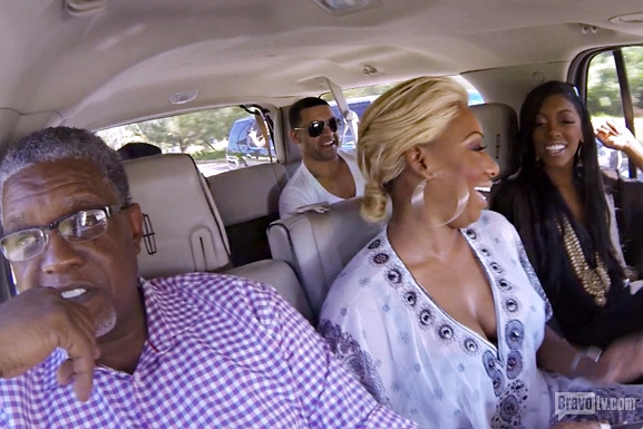 RHOA S6 Ep18 Van Good Times